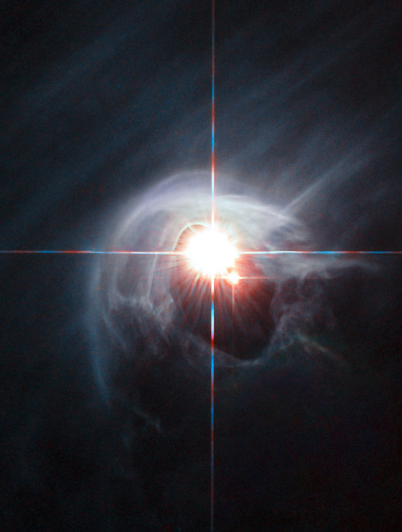 Hubble Image of Star System DI Cha