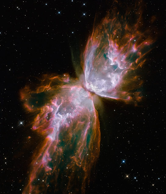 Hubble Image of the Butterfly Nebula