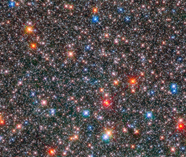 Hubble Image of the Center of the Milky Way