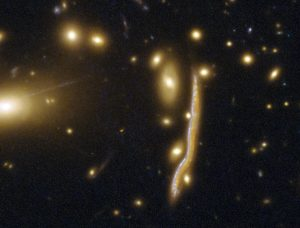 Hubble Image of the Comic Snake