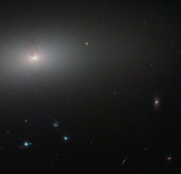 Hubble Image of the Day Elliptical Galaxy NGC 2768