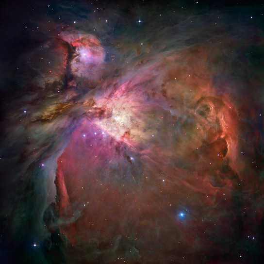 Hubble Image of the Orion Nebula