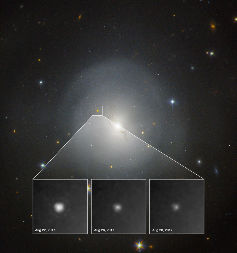 Hubble Observes First Kilonova