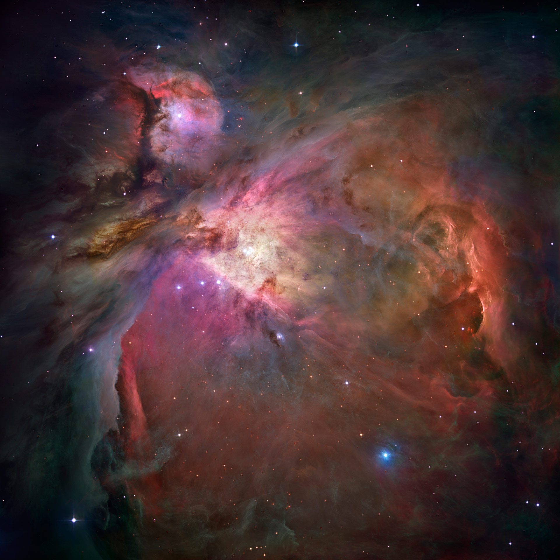 a majestic view of orion