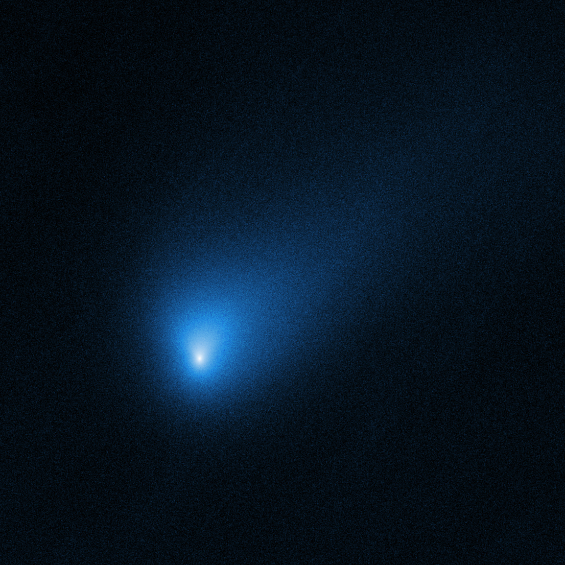 Hubble Telescope zooms in on interstellar visitor: Comet 2I/Borisov