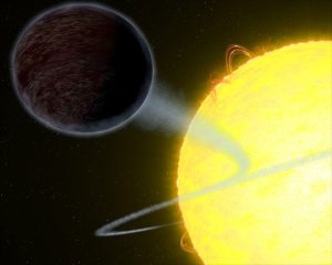 Hubble Reveals Blistering Pitch-Black Planet WASP-12b