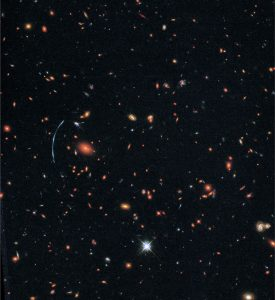 Hubble Reveals Clumps of New Stars in Distant Galaxy