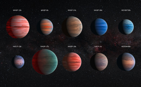 Hubble Reveals Diversity of Jupiter-Sized Exoplanet Atmospheres