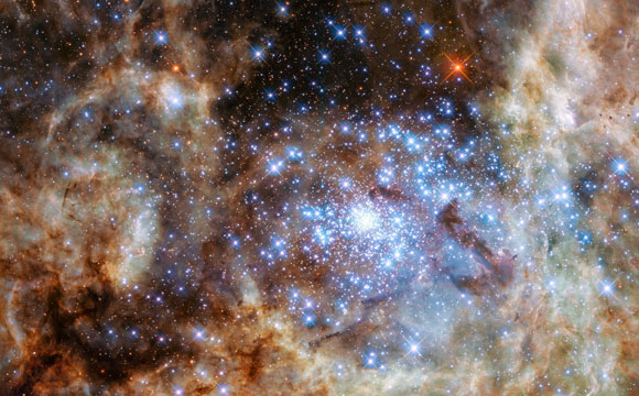 Hubble Reveals Monster Stars