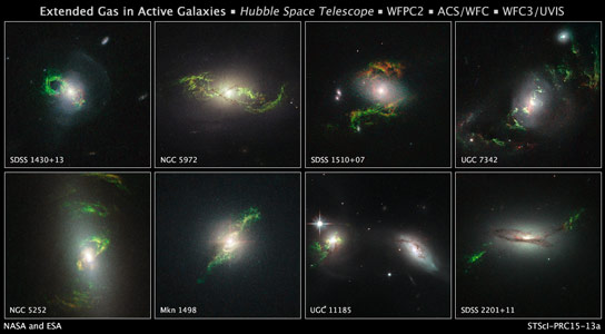 Hubble Reveals Phantom Objects Near Dead Stars
