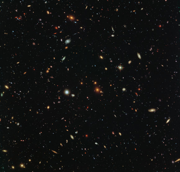 Hubble Reveals Thousands of Colorful Galaxies