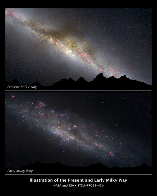Hubble Reveals the First Visual Evidence of Changes in the Milky Way