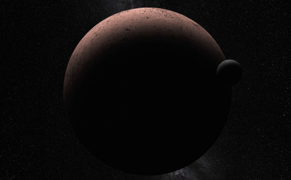 Hubble Space Telescope Discovers Moon Orbiting the Dwarf Planet Makemake