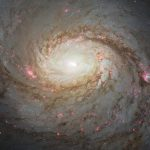 Hubble Space Telescope Image of Spiral Galaxy Messier 77