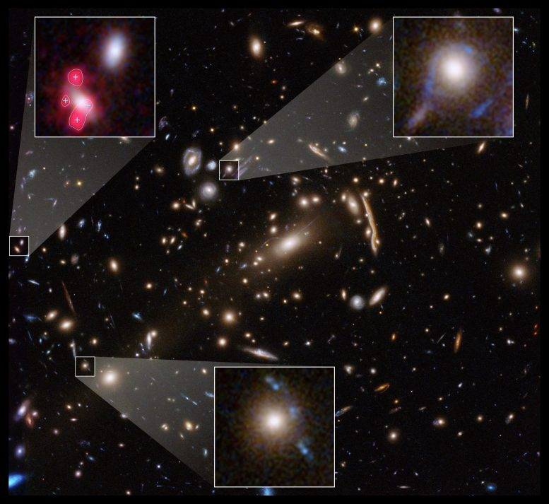 Hubble Space Telescope MACS J1206 Dark Matter
