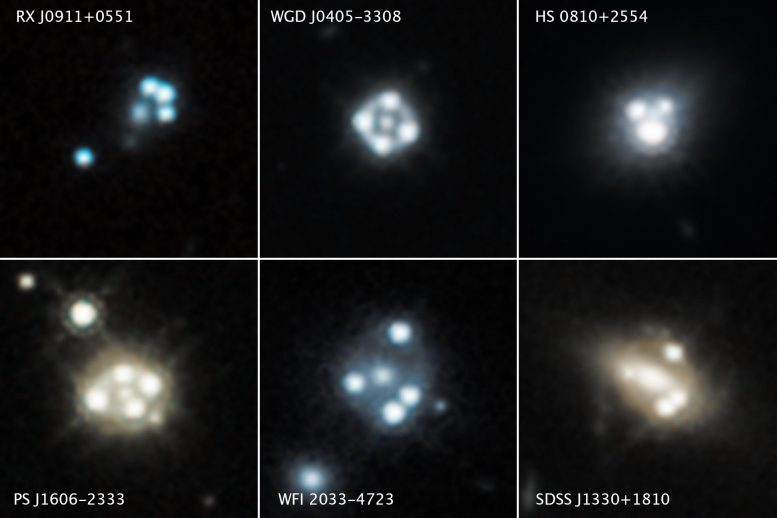 Hubble Space Telescope Quasar Galaxy Snapshots