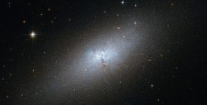 Hubble Space Telescope captured an impressive image of the irregular galaxy NGC 5253