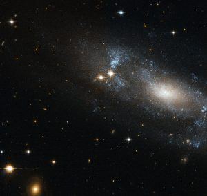 Hubble Space Telescope has spotted the spiral galaxy ESO 499-G37