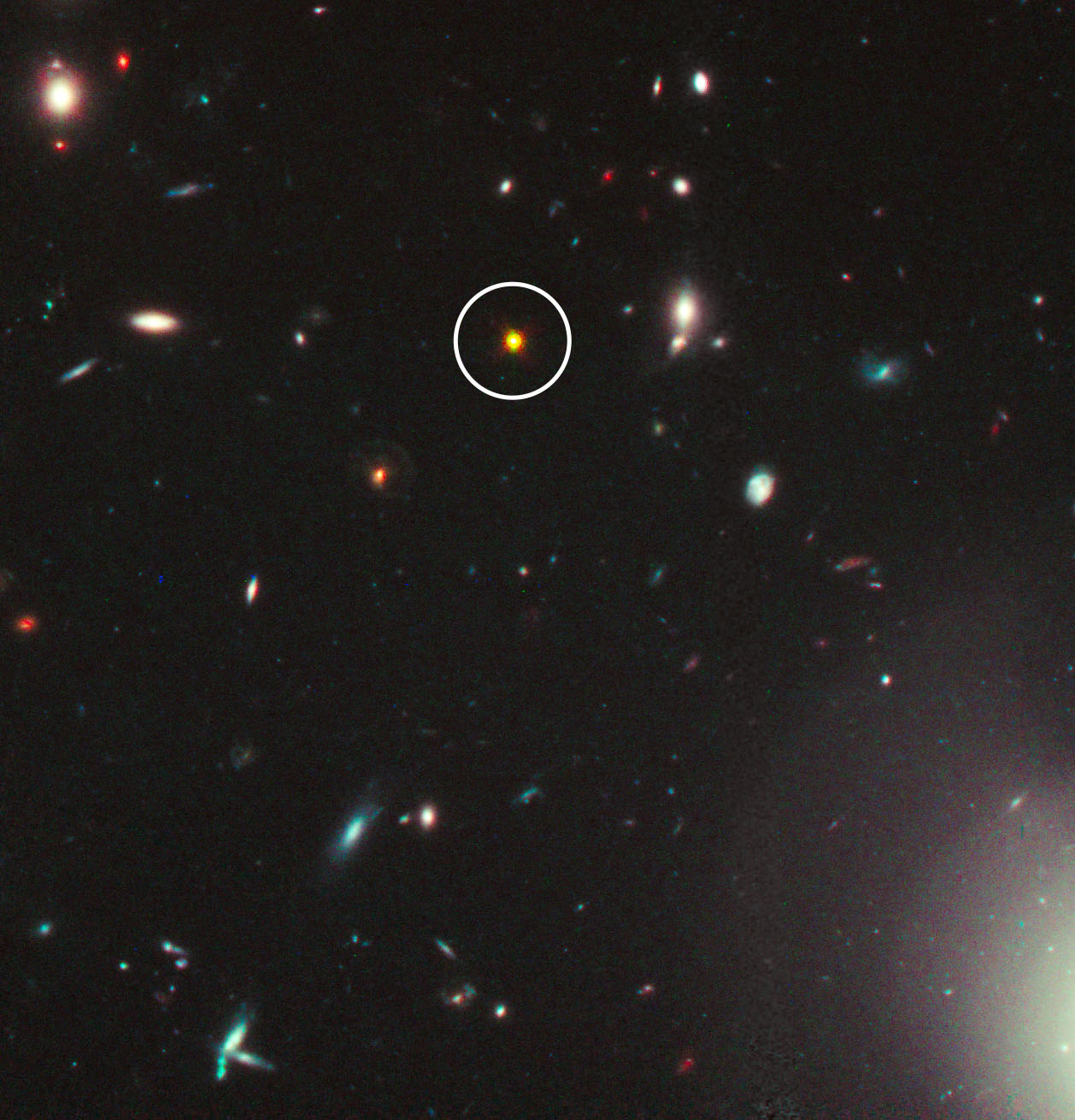The gallery for --> Quasar Hubble