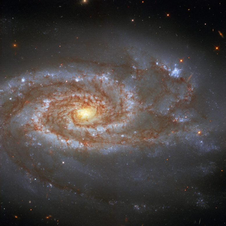 Hubble Spiral Galaxy NGC 5861