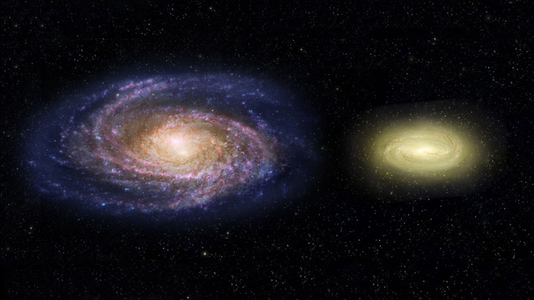 Hubble Spots Massive Dead Disk Galaxy that Challenges Theories of Galaxy Evolution