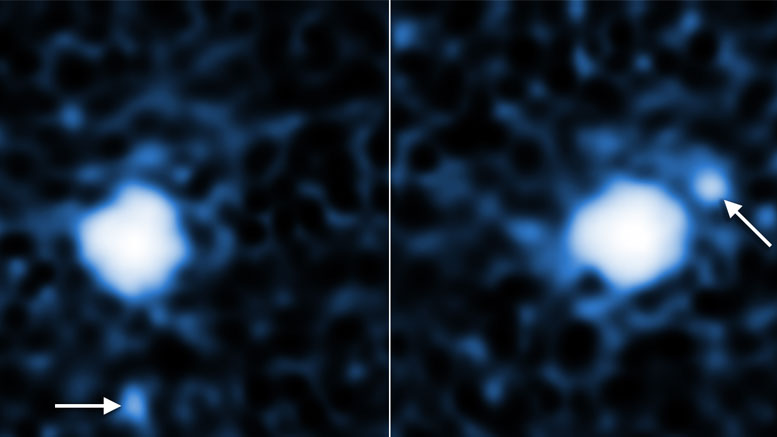 Hubble Spots Moon Around Third Largest Dwarf Planet 2007 OR10