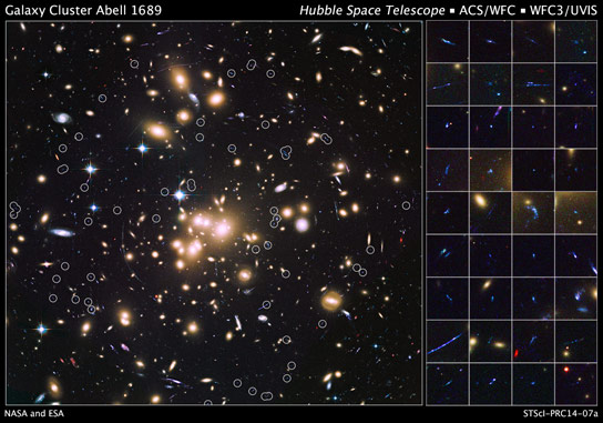 Hubble Telescope Finds 58 Remote Galaxies