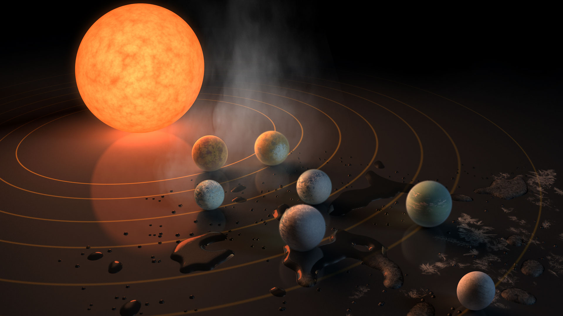 First Atmospheric Survey of Earth-Sized Planets Orbiting ...