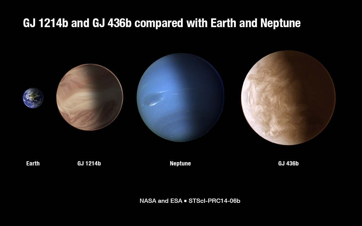Hubble Reveals Cloudy Weather On Exoplanet Gj1214b