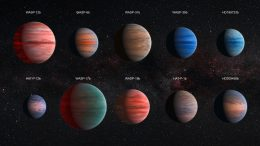 Hubble Telescope Reveals Diversity of Exoplanet Atmospheres