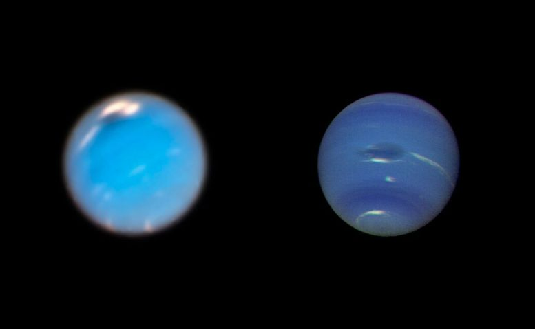 Hubble Tracks the Lifecycle of Giant Storms