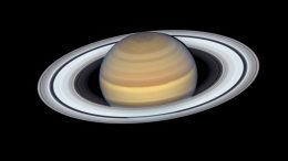 Hubble View of Saturn 2019
