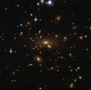 Hubble Views Abell 665