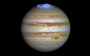 Hubble Views Auroras in Jupiter's Atmosphere