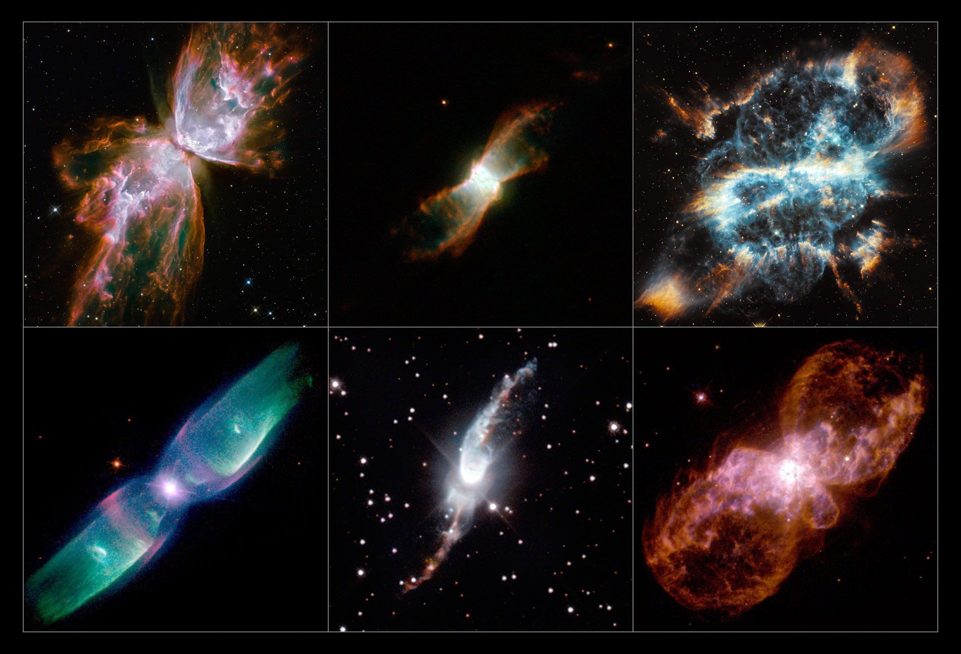Astronomers Find Bizarre Alignment of Planetary Nebulae in the Milky Way