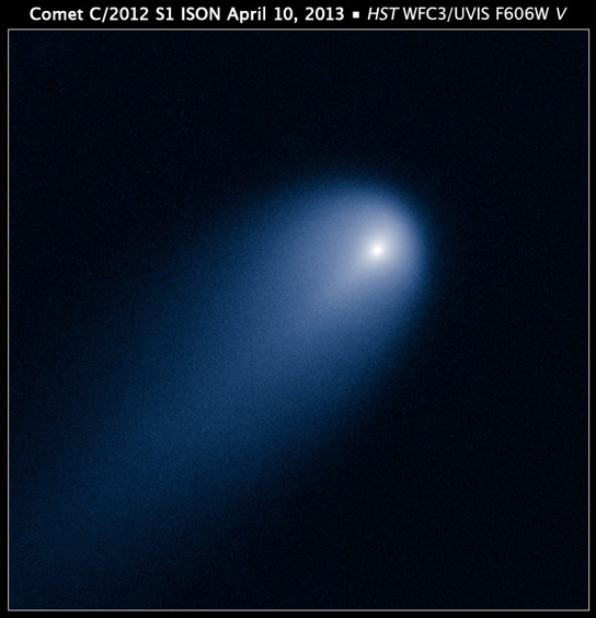 Hubble Views Comet ISON