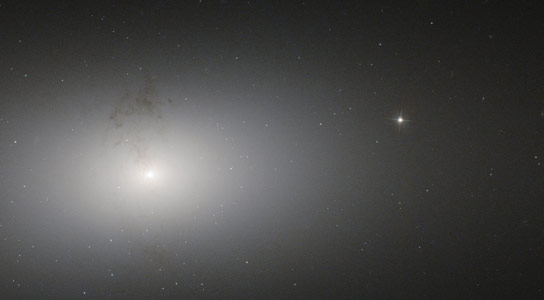 Hubble Views Dusty Detail in Elliptical Galaxy NGC 2768