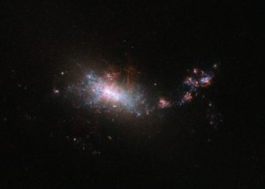Hubble Views Dwarf Galaxy NGC 1140