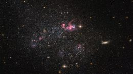 Hubble Views Dwarf Galaxy UGC 4459