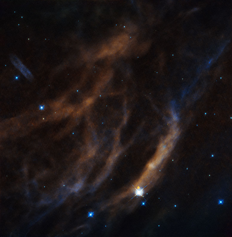 Hubble Views EZ Canis Majoris, Sh2-308