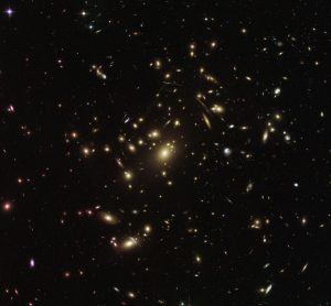 Hubble Views Galaxy Cluster Abell 2537
