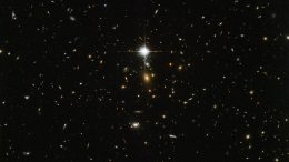 Hubble Views Galaxy Cluster WHL J24.3324-8.477