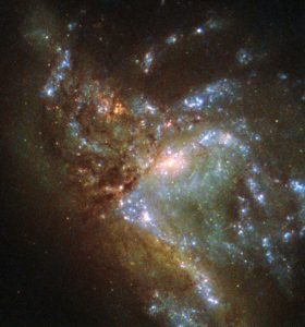 Hubble Views Galaxy NGC 6052