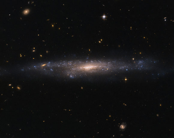 Hubble Views Galaxy UGC 477