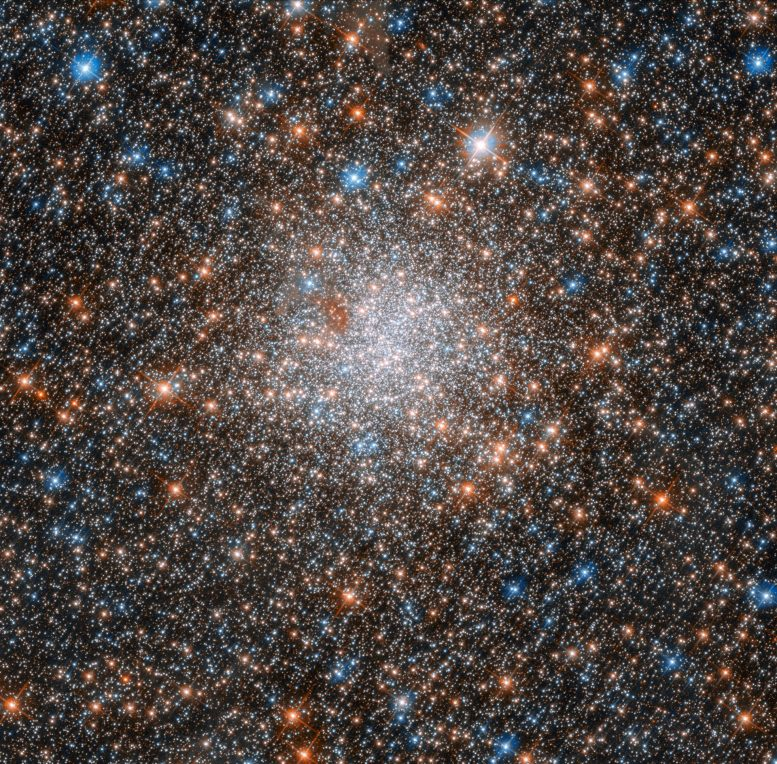 Hubble Views Globular Cluster NGC 1898