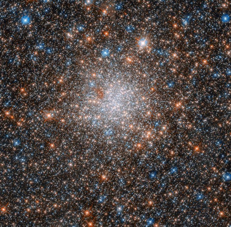 Hubble Views Globular Cluster NGC 1898