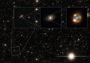 Hubble Views Gravitationally Lensed Type Ia Supernova for First Time