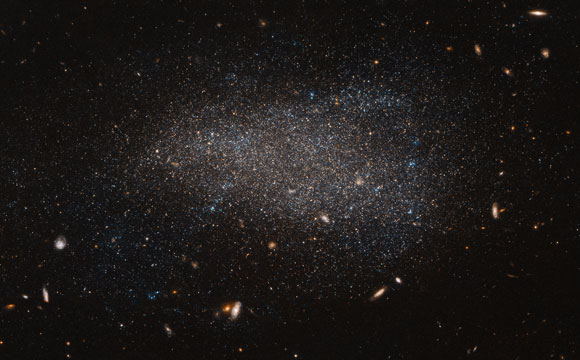 Hubble Views Irregular Dwarf Galaxy NGC 4789A
