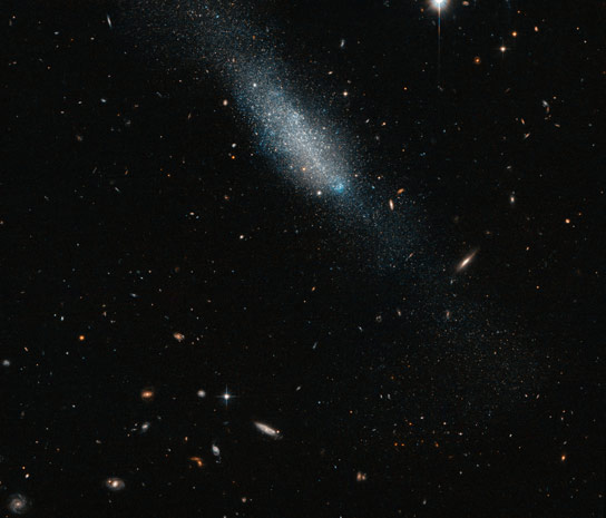 Hubble Views Irregular Galaxy ESO 149 3