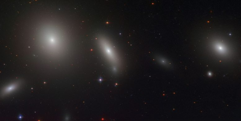 Hubble Views Lenticular Galaxy NGC 1277